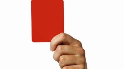 rode kaart