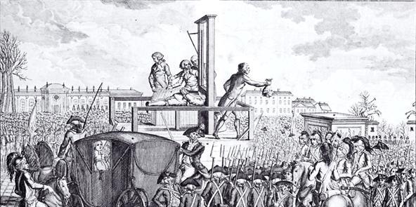 Executie Lodewijk de Veertiende