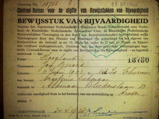 Rijbewijs_1928