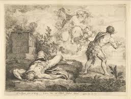 File:God roept Kaïn ter verantwoording nadat hij Abel heeft gedood,  RP-P-1878-A-851.jpg - Wikimedia Commons